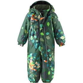 Reima Langnes Winter Overall Toddler, dark green